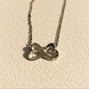 Jewelry - Silver Infinity Hearts Necklace